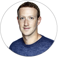 Mark Zuckerberg, insider at Facebook