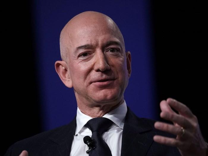 Jeffrey P. Bezos, insider at Amazon.com