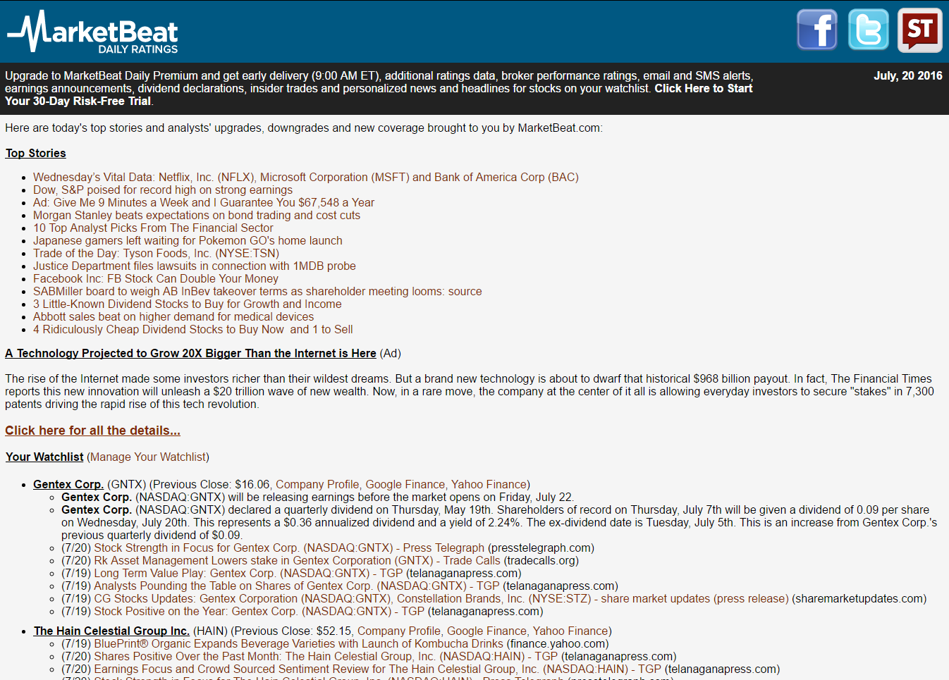 Receive more than 200 research updates daily by subscribing to MarketBeat Daily Ratings using the form below.